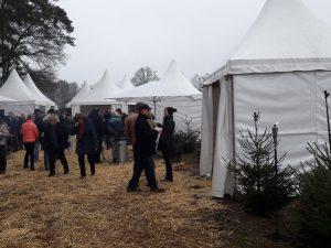 Für Gruppen und Firmen – Weihnachtsbaum selbst schlagen und Weihnachtsfeier direkt auf der Plantage Wedemark / Negenborn bei Hannover feiern.
